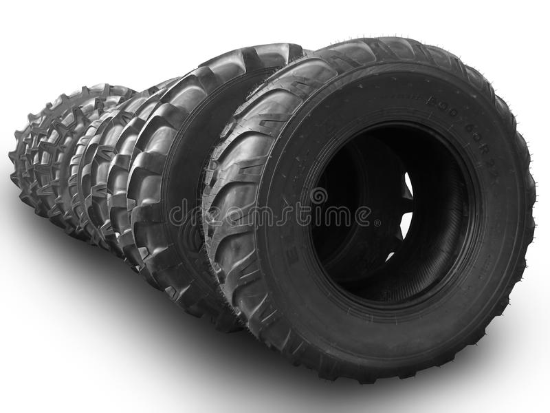 Large Wheels Royalty Free Stock Photography