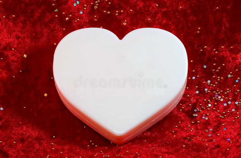 Download Large White Blank Valentine Stock Photography - Image: 4134592