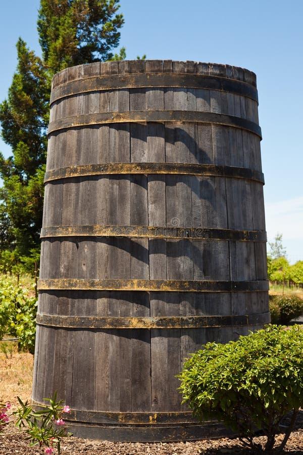 Large Wine Barrel Royalty Free Stock Images