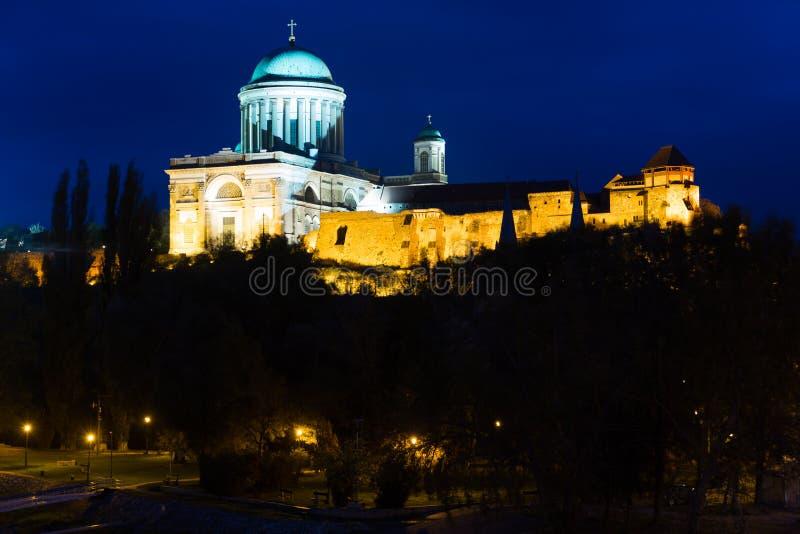 Esztergom Basilica in Hungary royalty free stock image