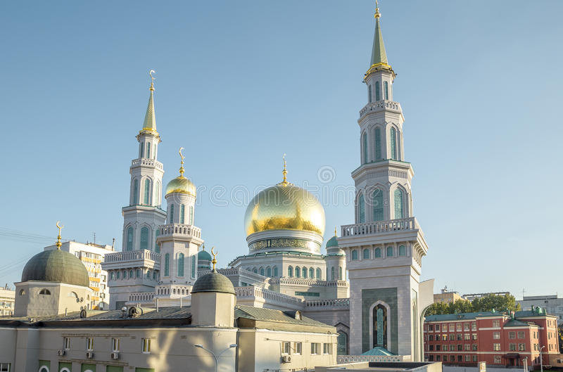 The Largest And Highest Mosque In Europe - Moscow, Russia ...