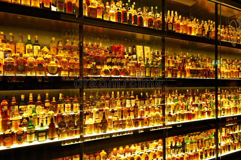 Download The Largest Scotch Whisky Collection In The World Editorial Stock Image - Image: 27589734