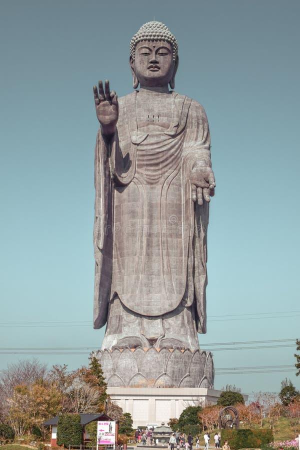 The Largest Statue in Japan the Ushiku Daibutsu stock photography