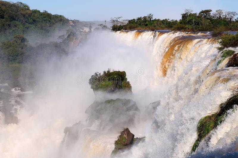 South America - Iguassu Falls royalty free stock photography