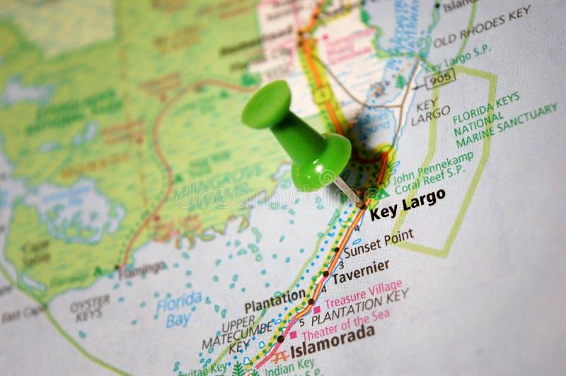 Largo chave, Florida fotografia de stock