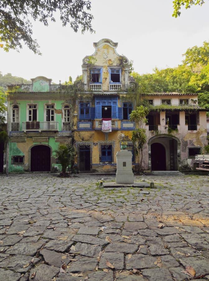 Largo gör Boticario i Rio de Janeiro royaltyfri fotografi