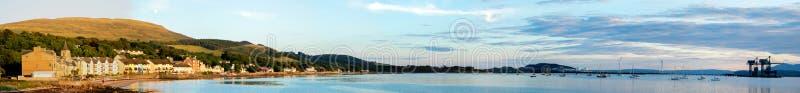 Largs - Skottland arkivbilder