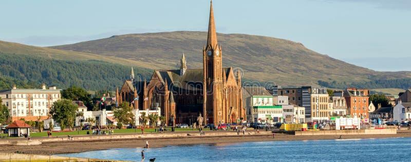 Largs - Skottland arkivbild