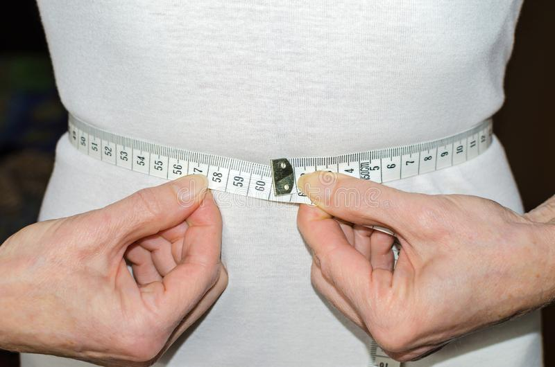 Largura da cintura de 60 centímetros imagens de stock royalty free