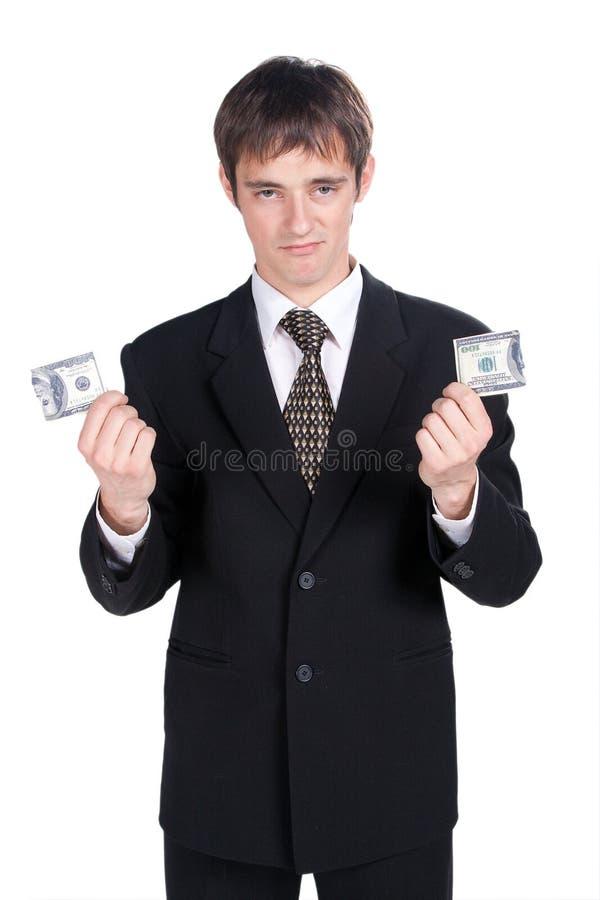 Larme 100 dollars. images stock