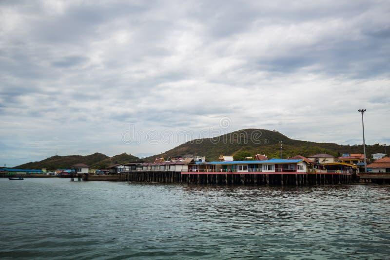Larn海岛,芭达亚泰国 免版税库存照片