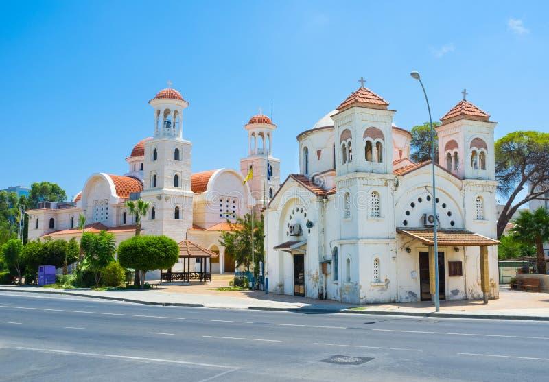 Larnaka教会  库存照片