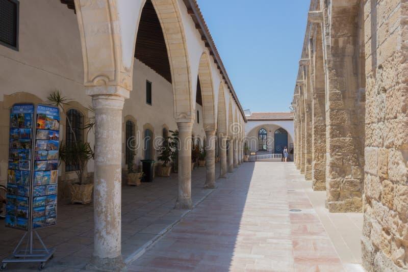 Larnaka, Cypr †'Czerwiec 26, 2015: Kościół święty Lazarus, Lar zdjęcie stock