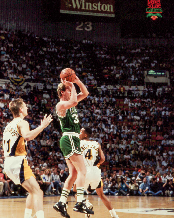 Larry Bird Boston Celtics photos libres de droits