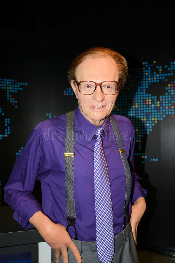 Larry King photo stock