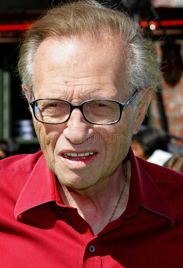 Larry King images libres de droits