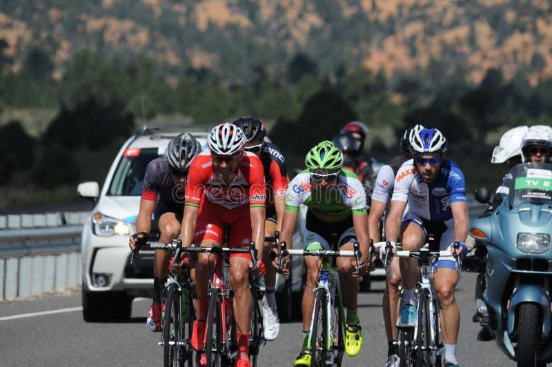 Larry miller 2014 tour of utah road race stock image
