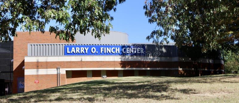 Larry O Finch Center Memphis University stock afbeeldingen