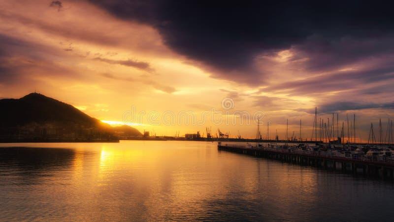 Las竞技场海滩在格乔 免版税库存图片