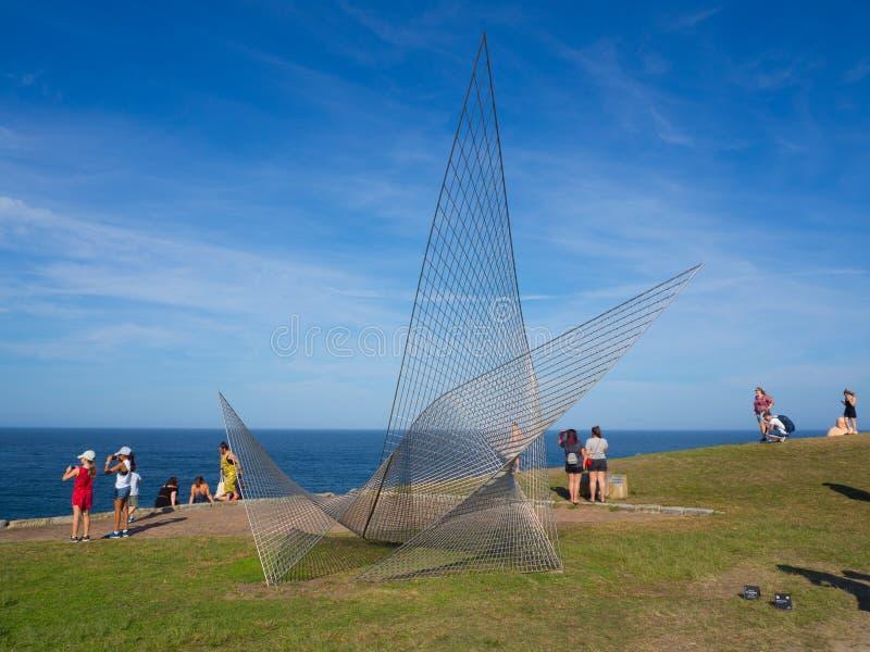 Las 'antítesis son ilustraciones esculturales de Matthew Harding en la escultura por los acontecimientos anuales del mar libres a imágenes de archivo libres de regalías
