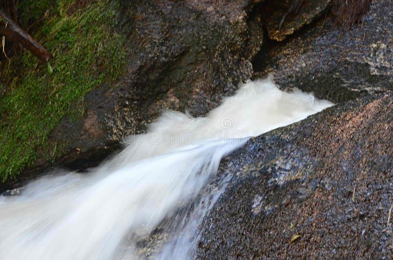 Las aguas de la cascada fotografía de archivo libre de regalías