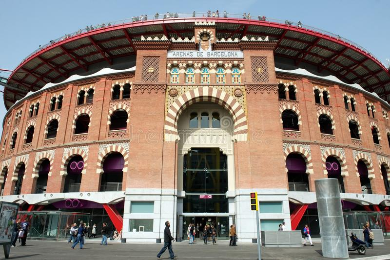 Download Las Arenas Shopping Mall, Barcelona, Spain Editorial Photography - Image: 21228847