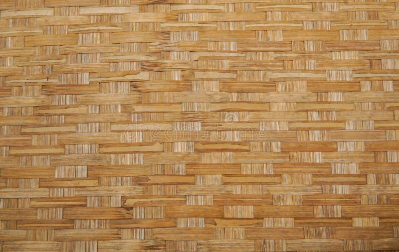 Las artesanías de bambú se cierran para arriba fotografía de archivo libre de regalías