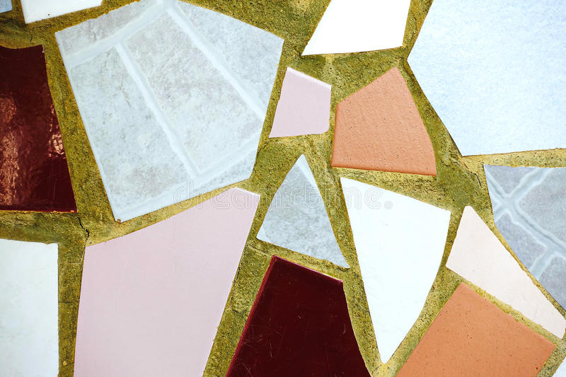 Las baldosas cerámicas de la pared vieja modelan la artesanía para la acera al aire libre interior del pavimento del diseño del p fotos de archivo
