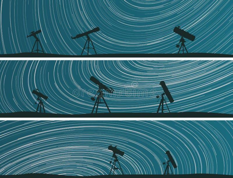 Las banderas de estrellas remontan círculos en el cielo. libre illustration