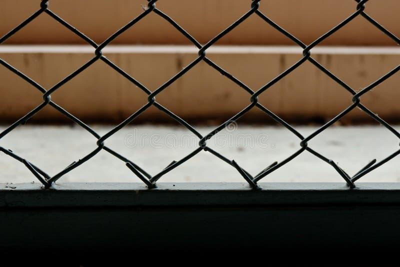Las barras de hierro que guardaron a los ladrones juntos imagen de archivo libre de regalías