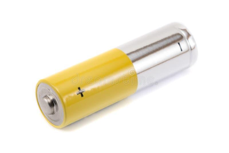 las baterías del AA-tamaño aislaron imagen de archivo libre de regalías