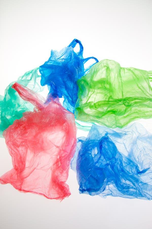 Las bolsas de plástico imágenes de archivo libres de regalías
