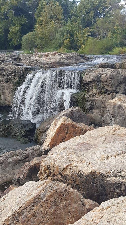 Las caídas en el joplin Missouri fotos de archivo libres de regalías