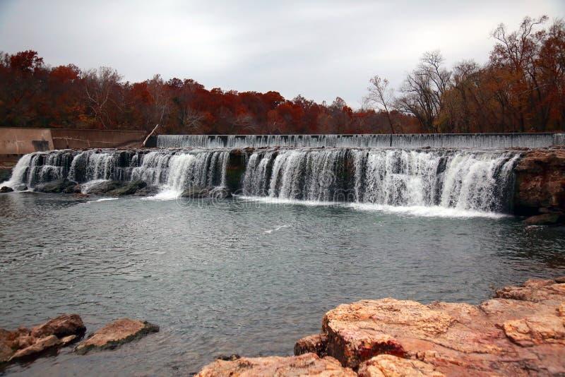 Las caídas magníficas riegan la caída, Joplin, MES imagen de archivo libre de regalías