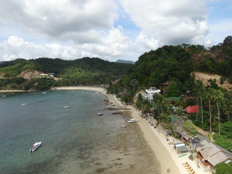 Las Cabanas stock image