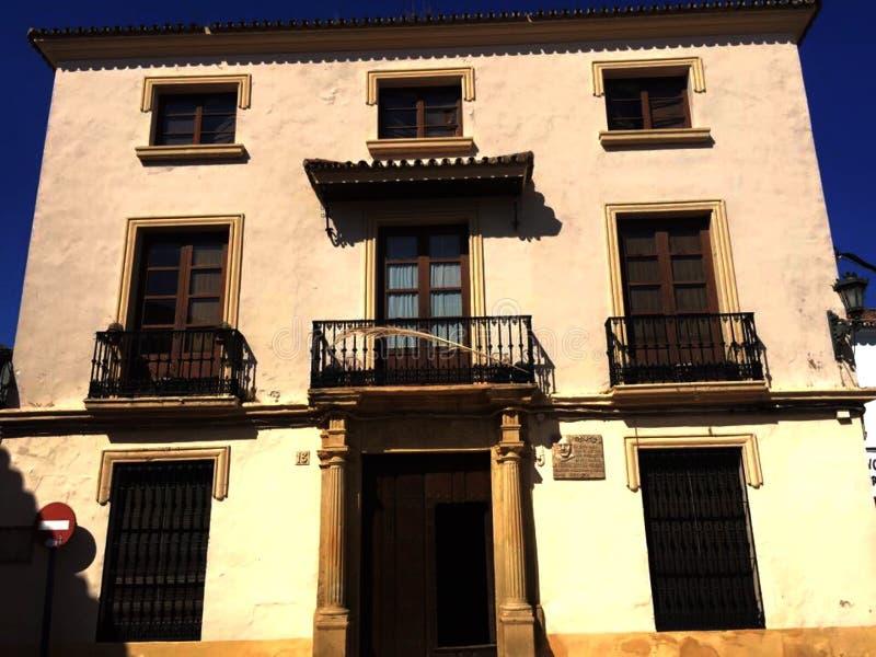 Las calles de Granada de Por imagem de stock royalty free