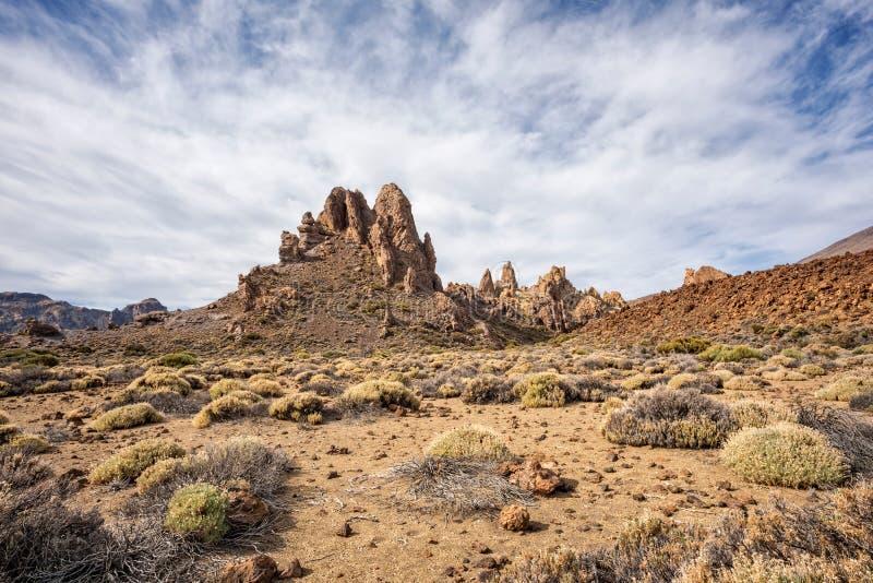 Las Canadas del Teide arkivfoto