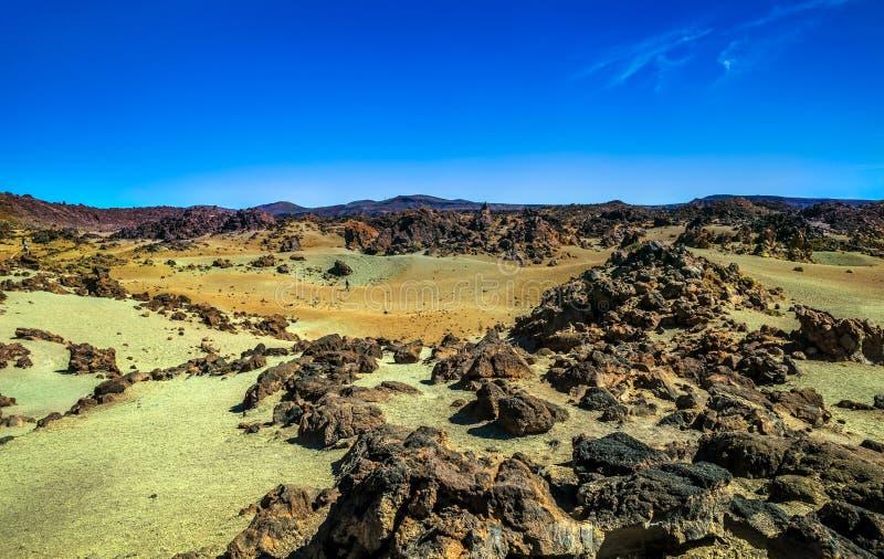 Las Canadas Del Teide na Tenerife wyspie obrazy royalty free