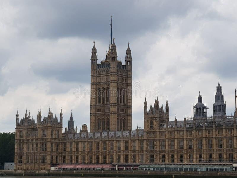 Las casas del parlamento Londres fotos de archivo libres de regalías