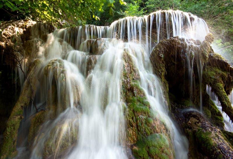 Las cascadas de Krushuna fotografía de archivo