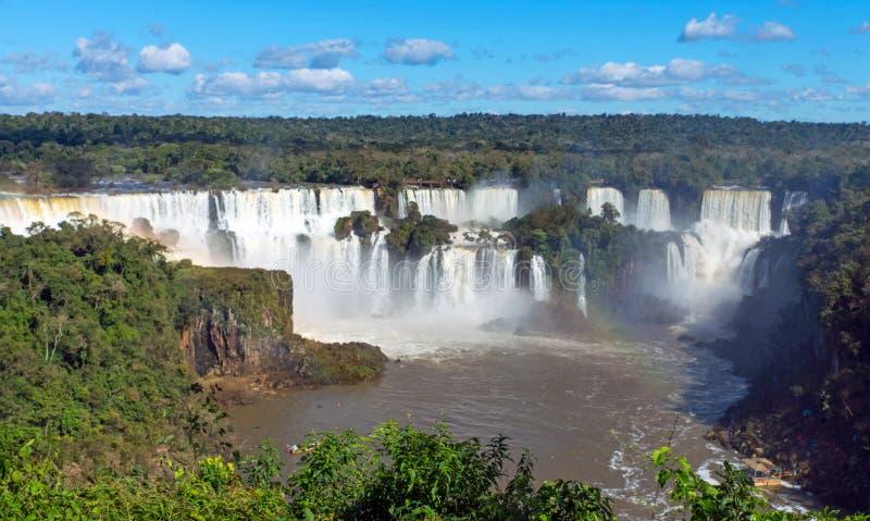 Las cataratas del Iguazú en la Argentina imágenes de archivo libres de regalías