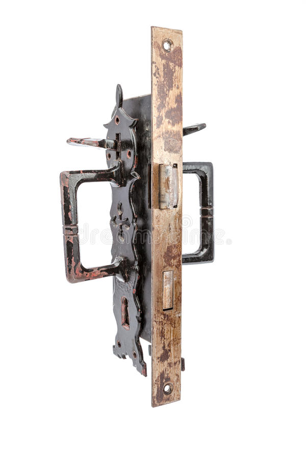 Las cerraduras del secutity fotografía de archivo
