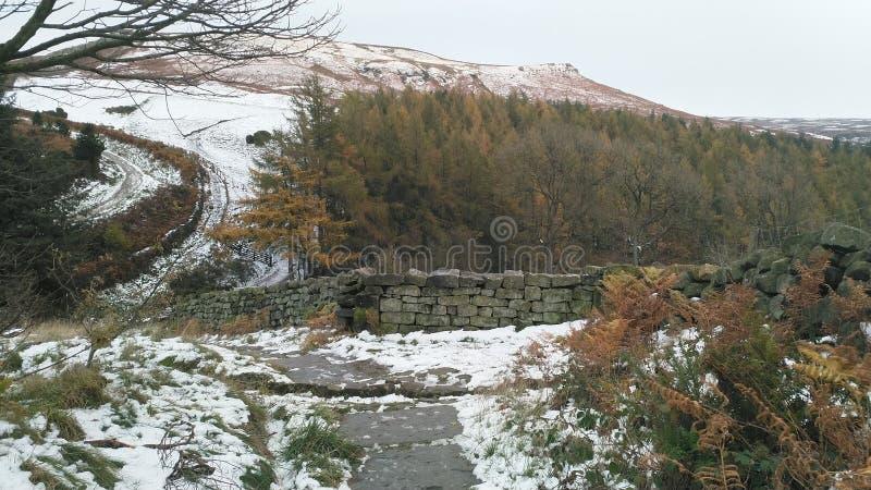 Las colinas en North Yorkshire amarran fotos de archivo