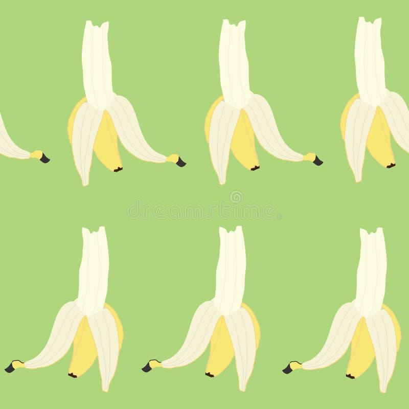 Las coristas de los plátanos en verde foto de archivo libre de regalías