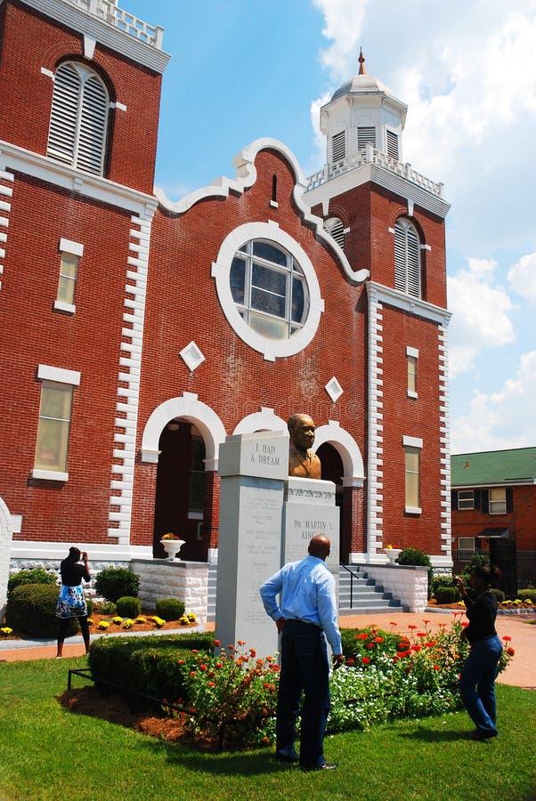 Las derechas civiles monumento, Selma Alabama foto de archivo