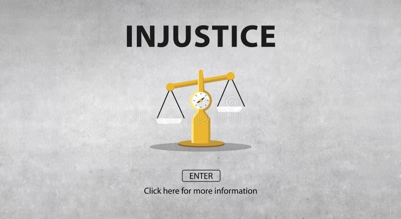 Las derechas del juicio de la ley que pesan concepto legal fotografía de archivo libre de regalías