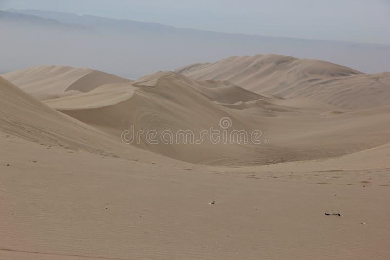 Las dunas de arena de Huacachina fotos de archivo