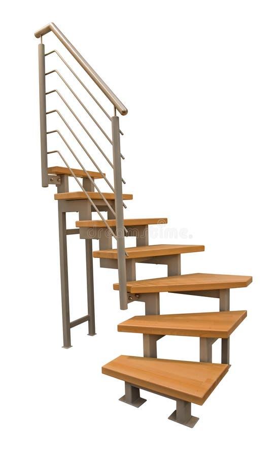 Las escaleras modernas. imagen de archivo