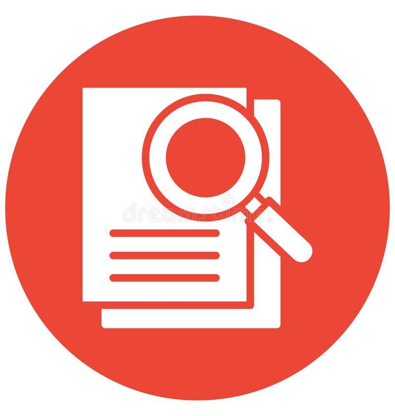 Las evaluaciones aislaron el icono del vector que puede modificar o corregir fácilmente el icono aislado las evaluaciones del ve libre illustration