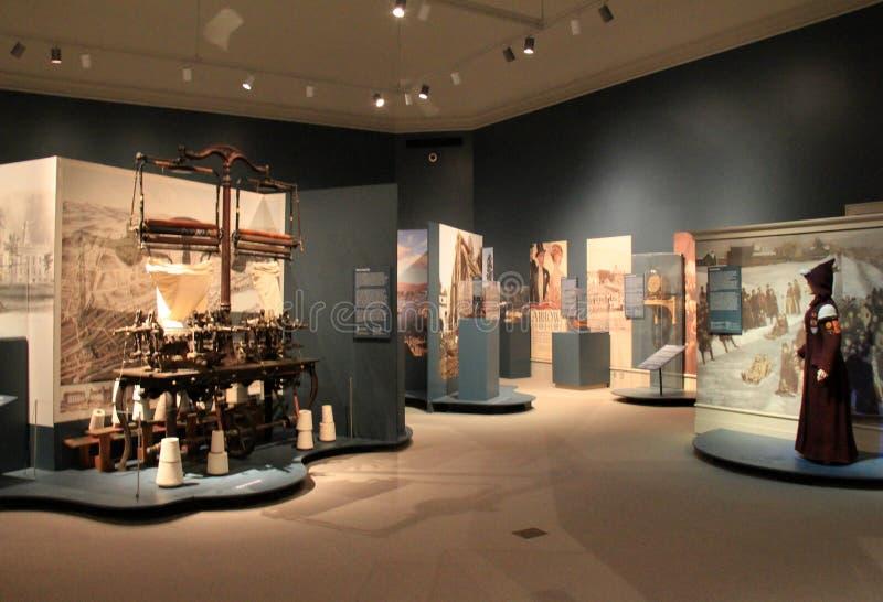 Las exhibiciones extensas titularon 'la región del capitolio en 50 objetos, 'instituto de la historia y el arte, 2016 imagen de archivo libre de regalías
